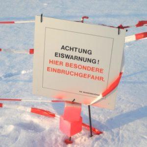 Eis kalt erwischt oder ein(Bruch) mit dem Wetter?
